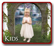 kids pictures button link